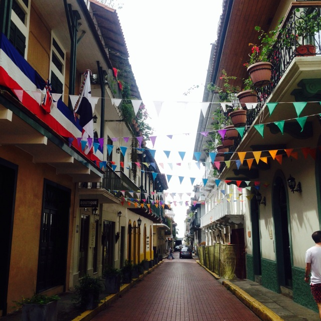 Colourful Panamanian streets