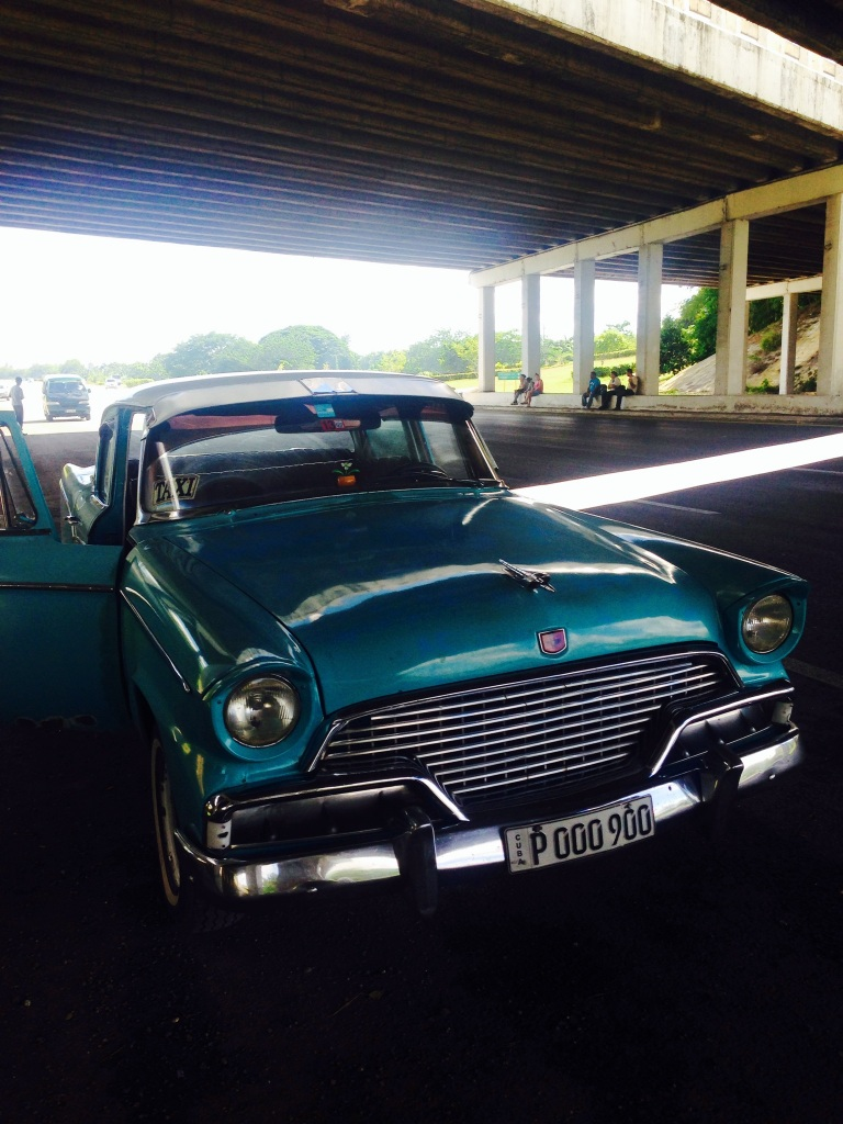 Meeting my ride under the flyover by the side of the motorway