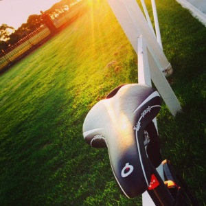 Sunset cycling (Friday night, cool kid)