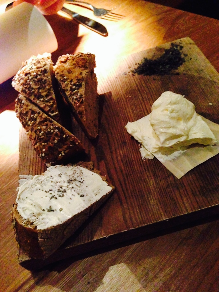 Icelandic soda bread and whipped butter
