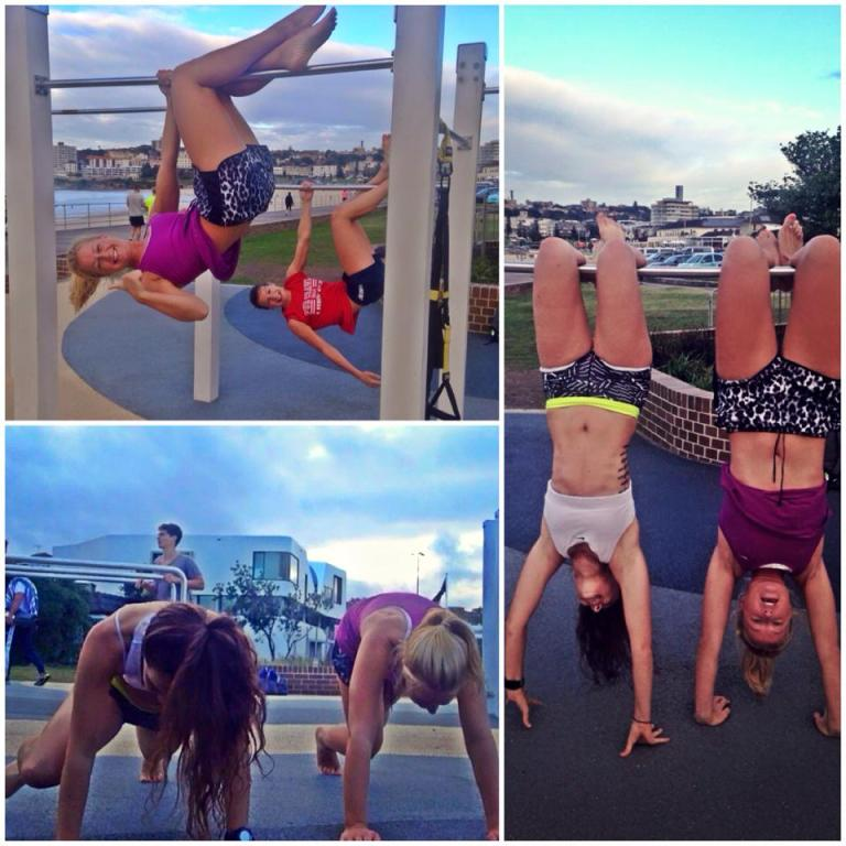 Bikini body guide week 12 complete! Plus some hanging upside down just for good measure...