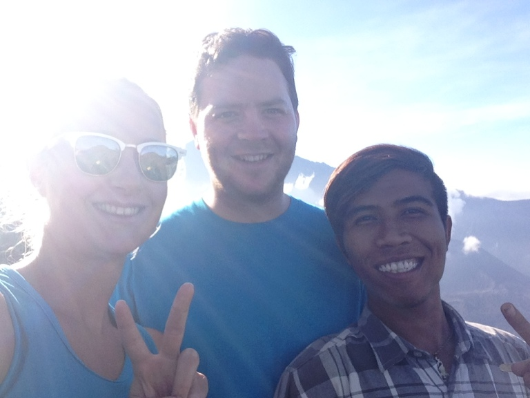 Team shot with Iruan