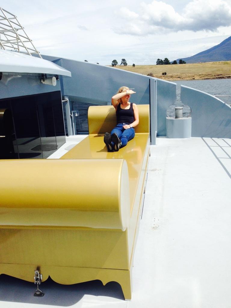 The Golden Ferry Throne