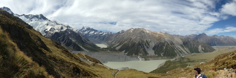 View from Sealy Tarns