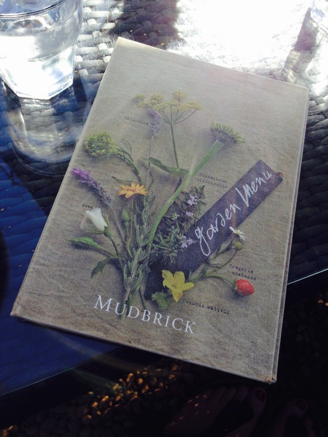 Lunch at Mudbrick