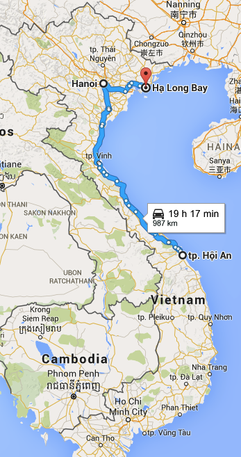 Leg 3 of the Vietnam adventures