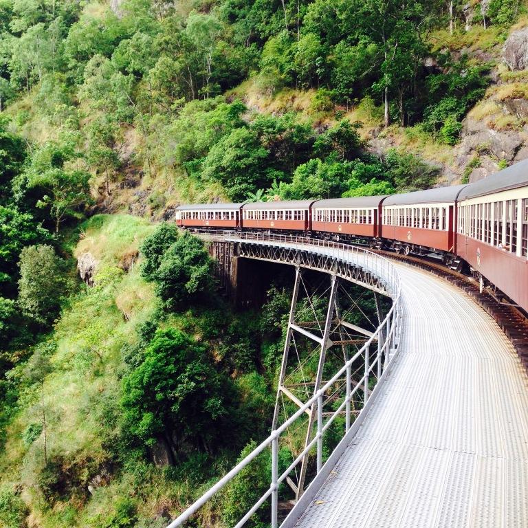 Scenic railway