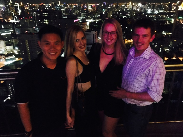 Final night rooftop drinks at Cloud47