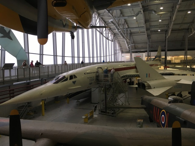 Concord at Duxford Imperial War Museum