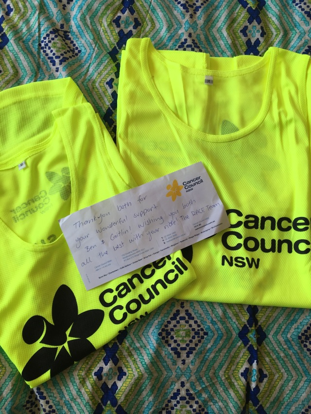 The reason we did it all - Cancer Council