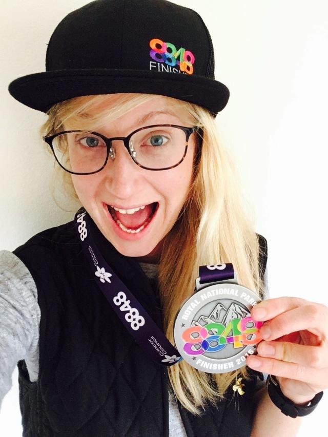 Yaaaay. What a medal! :)