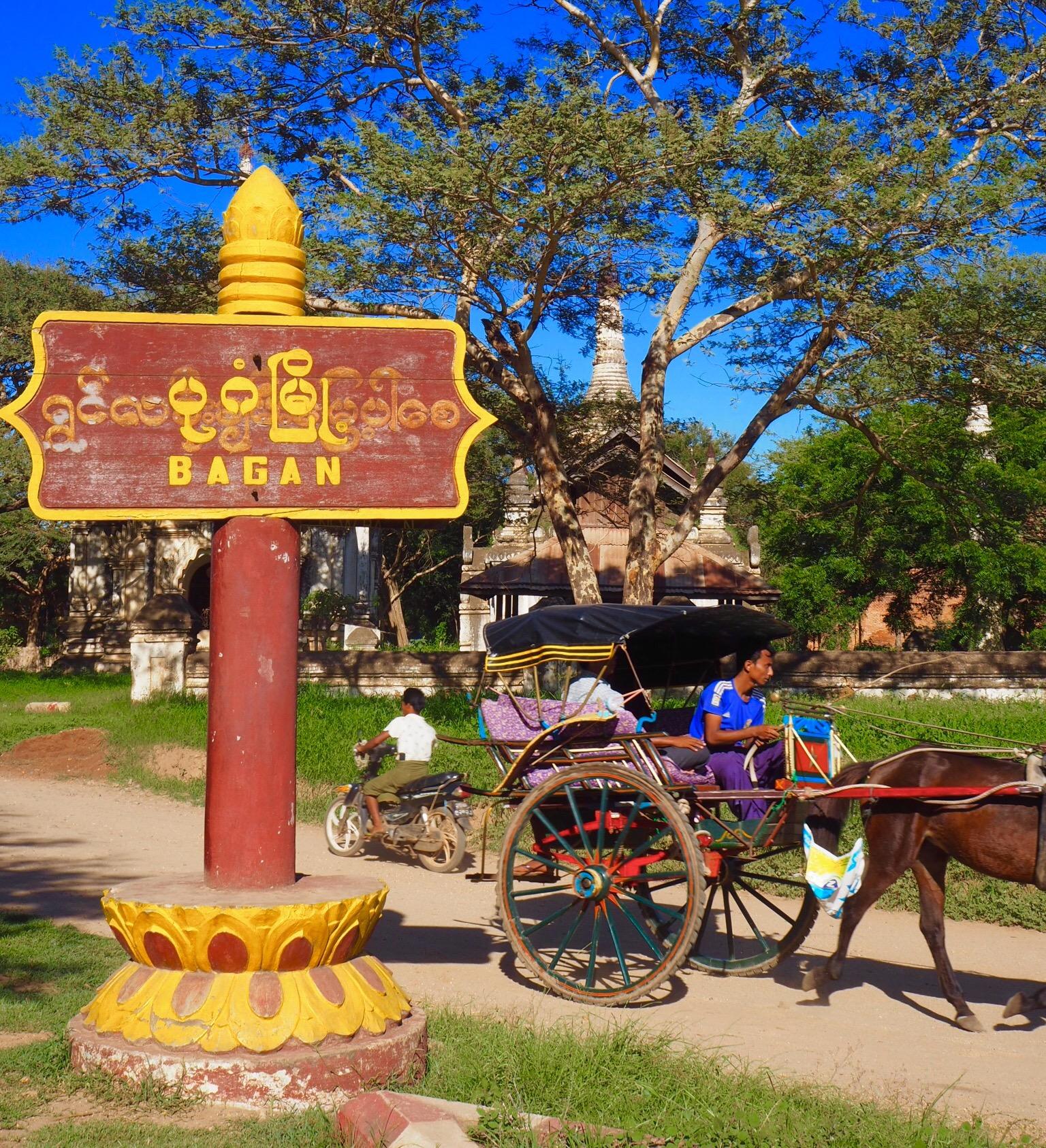 Where's Wallis? (E)Biking in Bagan, Myanmar